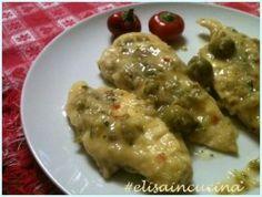 Petto di pollo alle olive