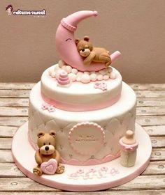 ..girl baby shower cake