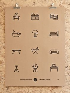 Tim Boelaars — Furniture; But maybe just tiny charactures of inspiring people?