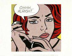 Roy Lichtenstein - Ohhh... Alright..., 1964