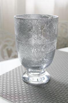 Jennan koti blogista idea köyhänhopeisiin lasiastioihin