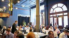 The restaurant as film set. Rockpool, Sydney via Finnemore Australian Restaurant, Rock Pools, South Wales, Sydney, Delivery, Film, Digital, Natural Pools, Movie