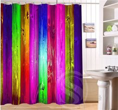 Colored fluorescent color decorative pattern Personalized Custom Shower Curtain Bath Curtain Waterproof Eco Friendly  SQ0506 L08-in Shower Curtains from Home, Kitchen & Garden on Aliexpress.com   Alibaba Group