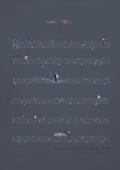 把歌词都变成星星,唱进你的梦里-lost7