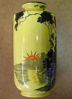Shelley Sunset vase