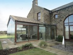 Porch Extension, Cottage Extension, House Extension Design, Glass Extension, Garden Room Extensions, House Extensions, Modern Cottage, Modern Farmhouse, Barn Renovation