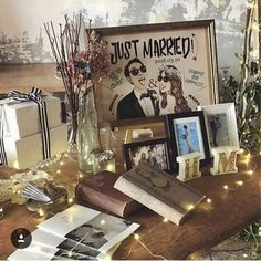 Wedding Letters, Wedding Cards, Our Wedding, Wedding Photo Table, Wedding Photos, Wedding Registration Table, Wedding Welcome Board, Wedding Doors, Wedding Reception Decorations