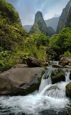 Iao Valley State Park, Wailuku, Maui, Hawaii
