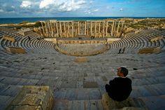 Leptis Magna Theater, Libya