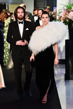 WHO: Charlotte Casiraghi WHAT: Saint Laurent WHERE: Rose Ball, Monte Carlo, Monaco WHEN: March 24, 2018 Photo: Getty Images