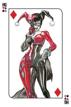harley quinn art - Google Search