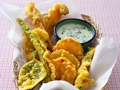 Asperges en tempura. Super site de cuisine: dossiers; recettes de saison, fruits et légumes, etc