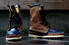 RF X Quoddy Woodsman Boot - Blue | Boot | Kith NYC