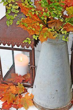VIBEKE DESIGN autumnal colour  ~ lovingly repinned by www.skipperwoodhome.co.uk