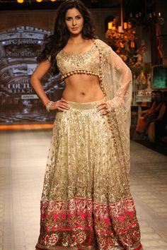 Katrina Kaif on the ramp for Manish Malhotra #Katrina #KatrinaKaif #Bollywood