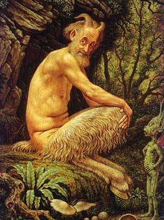 Jitter bug perfume Johfra Bosschart Self-Portrait as a Faun, 1985 Foto Transfer, Roman Mythology, Greek Mythology, Dutch Painters, Green Man, Gods And Goddesses, Mythical Creatures, Woodland Creatures, Folklore