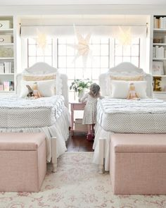 Lulu & Georgia Cullen Kids Storage Bench, Rosequartz - All For Decorations Bedroom Ideas For Teen Girls, Teen Girl Bedrooms, Little Girl Rooms, Elegant Girls Bedroom, Modern Bedroom, Bedroom Storage, Bedroom Decor, Bedroom Wall, Bedroom Furniture
