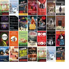 """Saturday, October 31, 2015: The Hamilton-Wenham Public Library has 30 new books in the Mysteries & Thrillers section.   The new titles this week include """"Rest Ye Murdered Gentlemen,"""" """"Trimmed with Murder: A Seaside Knitters Mystery,"""" and """"The Big Book of Sherlock Holmes Stories."""""""