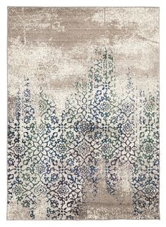 I absolutely love the distressed look of this Liwa Faded Ivory Blue Green Floral Motif Rug, and had to include it. I absolutely love the distressed look of this Liwa Faded Ivory Blue Green Floral Motif Rug, and had to include it. Motif Floral, Floral Rug, Tapete Gold, Muebles Shabby Chic, Tapis Design, Buy Rugs, Rug Material, Carpet Design, Rugs Online