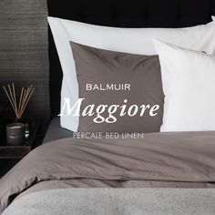 Balmuir new percale bed linen available at www.balmuir.com/shop