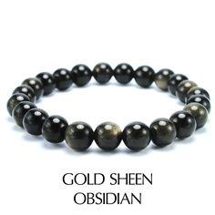 RGF43 | Gold Sheen Obsidian | RM40
