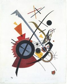 Violett Vasily Kandinsky (French (born Russia), Moscow 1866–1944 Neuilly-sur-Seine)