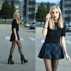 lookbookdotnu:I'm standing in your line I do… Hope you have the time (by Cátia Gonçalves)