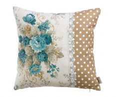 Light Brown and White Ploka Dot Cushion Scatter Cushions, Toss Pillows, Diy Pillows, Cushion Covers, Pillow Covers, Designer Bed Sheets, Cushion Embroidery, Motifs Textiles, Shabby Chic Pillows