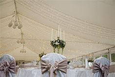 Marquee Fairy Lights - Hamilton Park Racecourse