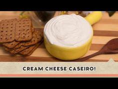 Cream Cheese Caseiro! | Receitas de Minuto - A Solução prática para o seu dia-a-dia!