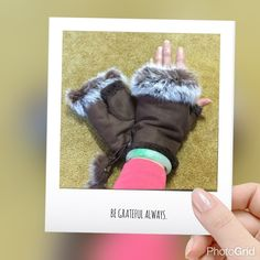 Faux leather rabbit fur wrist fingerless gloves Dark brown color Cute & warm gloves protect your hands from cold winter outdoor you can do activities freely especially when you surf the internet brand new tag on bag Price is firm unless you bundle  2 pairs available Accessories Gloves & Mittens