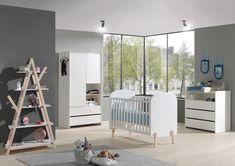 "Baby room gray ""Marta"" 4 parts made of wood Baby room gray Marta 4 parts made of wood # 4 Baby Room Diy, Baby Room Decor, Loft Design, House Design, Kids Bedroom Designs, Bunk Beds, Toddler Bed, Kids Rugs, Interior Design"