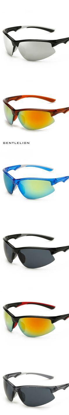 2017 New Sport Sunglasses For Driving Men Brand Half Frame Sun Glasses Driver Male Goggles Eyewear 8019