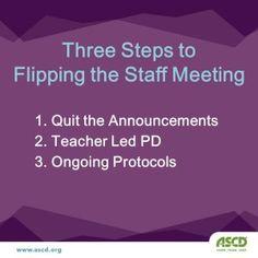 Planning effective staff meetings