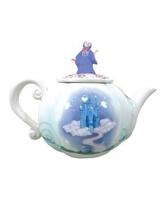 Take a look at this Cinderella Carriage Teapot on zulily today!  $29.99, also Snow White