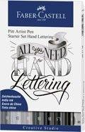 Penshop.cz - Popisovače Faber-Castell PITT Artist Pen Lettering Set, 8 ks >>