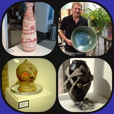 """Pictures of a recent collaborative summer exhibit called """"BONES"""" from the Central Minnesota Artists Guild"""