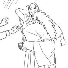 Hashirama and Madara HashiMada Naruto Art, Naruto Shippuden Anime, Sasuke Uchiha, Anime Naruto, Narusasu, Sasunaru, Boruto, Madara Vs Hashirama, Madara Wallpapers