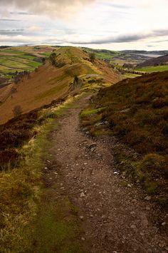 Cat's back or Knockfarrel, Scottish Highlands