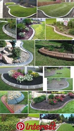 These are three of the most useful front yard landscaping ideas that have been used by homeowners in the past. The charm of these front yard landscaping ideas. Small Backyard Landscaping, Backyard Garden Design, Landscaping With Rocks, Landscaping Ideas, Backyard Ideas, Landscaping Software, Front Garden Landscape, Landscape Curbing, Landscape Edging