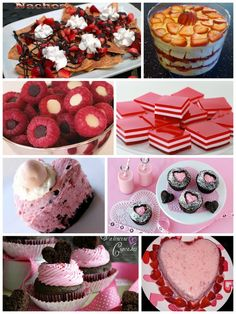 Yummy Treats -- perfect for Valentine's Day!