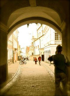Vilnius, Lithuania - this is near where Mo's parents still live.