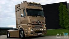 Mercedes Benz Trucks, Scania V8, Cars And Motorcycles, Offroad, Mp5, Automobile, Vehicles, Airbrush, Buses