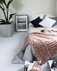 thick, cozy textiles