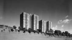 Tower blocks at Park Hill, Sheffield Tower Block, Once In A Lifetime, Learn To Love, Brutalist, New Wave, Urban Art, New York Skyline, Waves, Modernism