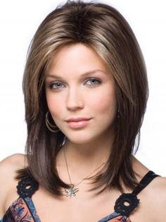 Стрижки для удлиненного лица и тонких волос