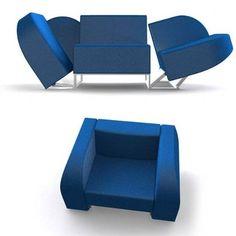 smart design furniture. Chair To Sofa Transformer Furniture Photo Smart Design