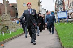 Remembrance Sunday in Cromer, North Norfolk.
