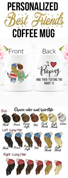 Hold onto your prized status with his Christmas gift for best friend... Personalized Your Coffee Mug Now Easy & Fast !