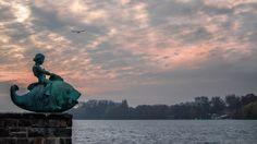 HANNOVER Südstadt Maschsee Lake Hanover Germany